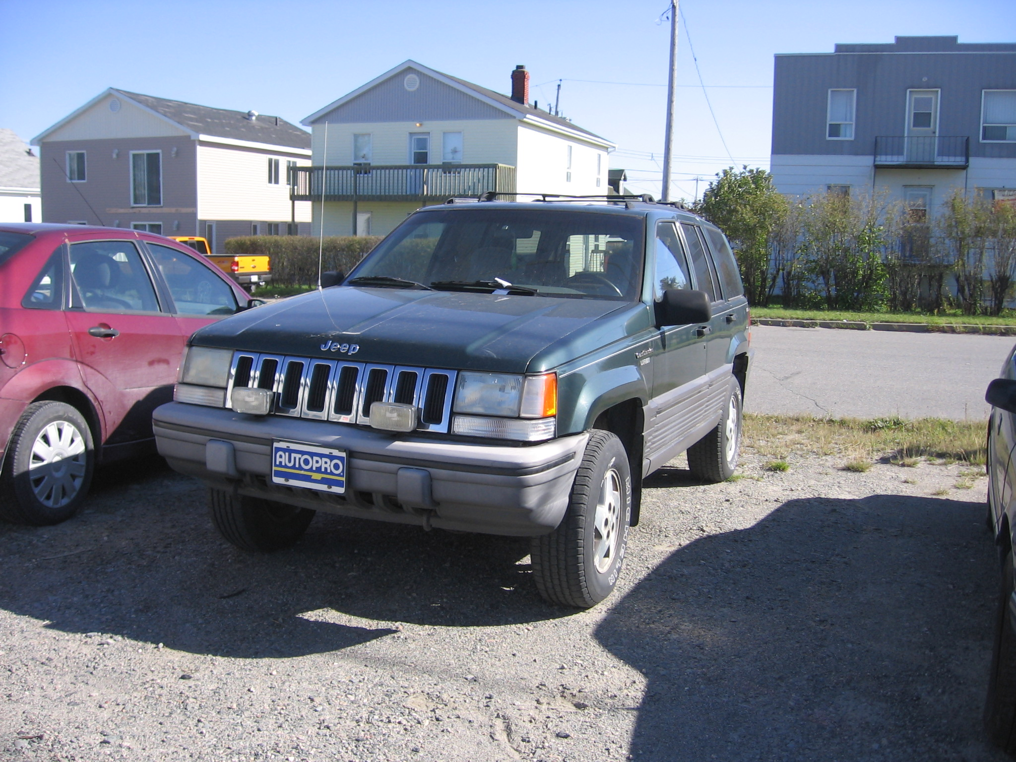 Jeep on 1995 Jeep Grand Cherokee Transfer Case